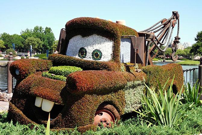 Mater Epcot Flower Garden Festival