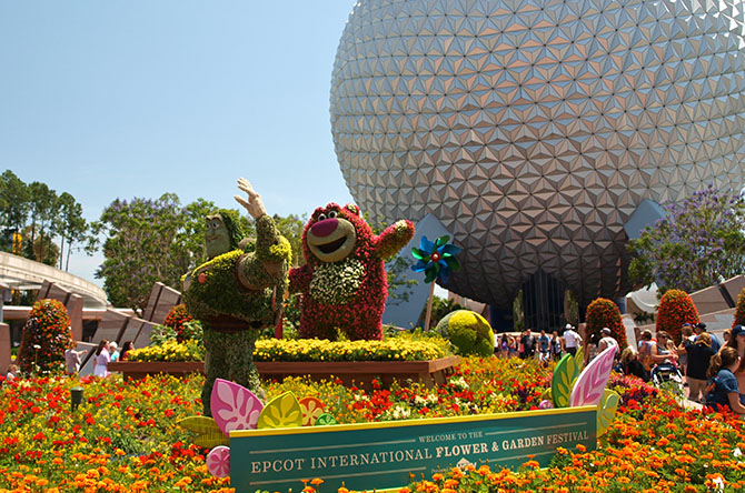 Epcot Flower and Garden Festival 2015: Did you say food?
