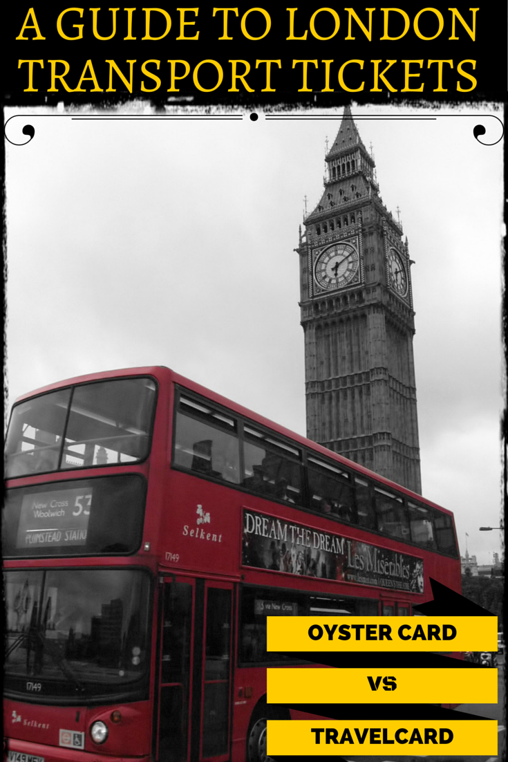 Oystercard vs Travelcard - which London travel ticket is best for visitors?