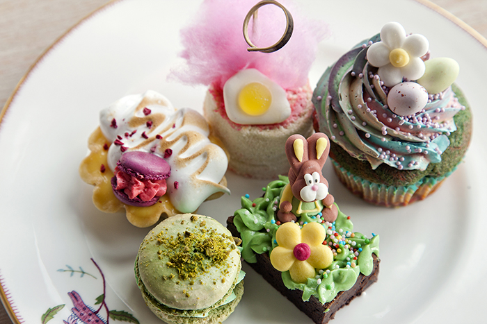 Easter themed Afternoon Tea   I think we all love a good Afternoon Tea, so it makes sense to treat yourself to a themed one this Easter too, right? Many hotels in central London this Easter are offering these, but in particular the Easter Afternoon Tea at Ham Yard Hotel caught my eye. With bunny garden chocolate brownies, candy floss Swiss roll and rainbow cupcake with speckled eggs amongst it's offerings, the fun and lighthearted theme really captured my imagination. Life...and Easter, is too short to be serious. It's also only £19.50 per person making it one of the more affordable Afternoon Tea's on offer around the capital. It's filling up fast though, so be sure to book up sooner rather than later and is only available until the 7th of April.