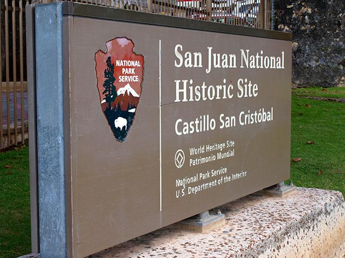 Castillo San Cristobal on San Juan. www.onepennytourist.com