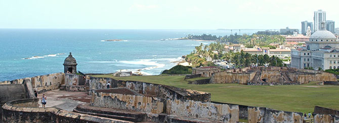 View over Old San Juan