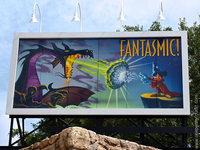 Looking for a sign at Disney Hollywood Studios