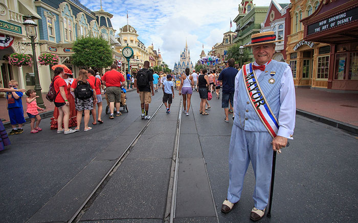 Streetmosphere in Walt Disney World's Magic Kingdom