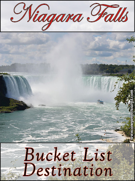 Niagara Falls Bucket List
