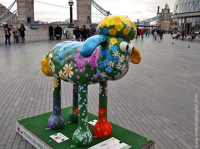 PETAL by Emily Ketteringham - part of the Shaun in the City Art Trail