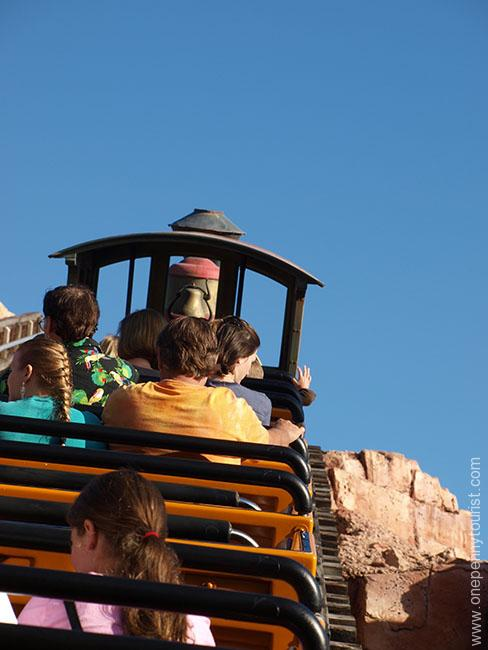 Big Thunder Mountain Railroad in Magic Kingdom, Walt Disney World, Orlando, Florida