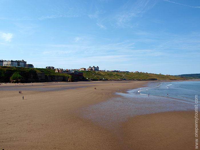 Day Trip to Whitby beach in North Yorkshire. Beautiful and huge!