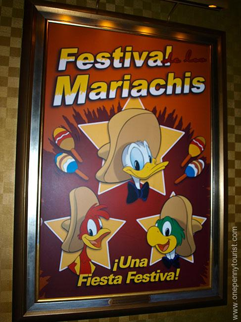 Mickey's Philharmagic Posters as you enter the show (Magic Kingdom, Walt Disney World)
