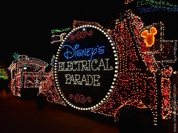 Disney's Main Street Electrical Parade in the Magic Kingdom at Walt Disney World