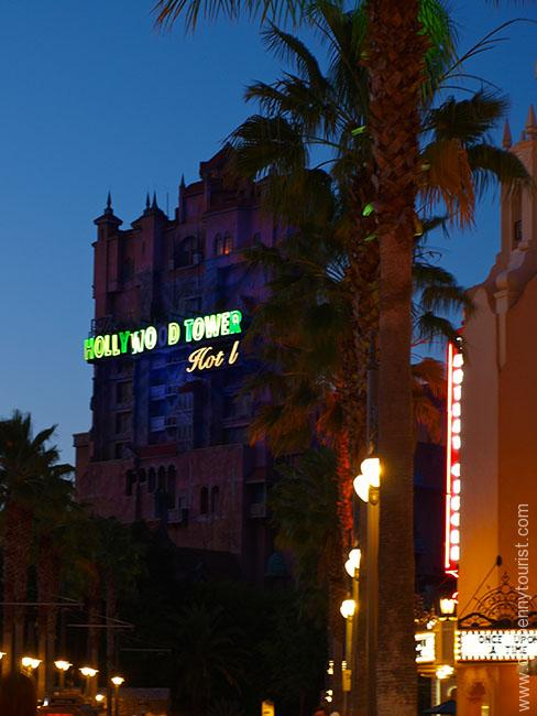 Tower of Terror in Disney's Hollywood Studios in Walt Disney World, Orlando, Florida