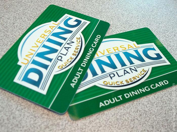 Universal Dining Plan – Quick Service: A review
