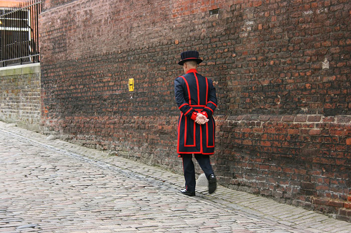 Yeoman Warder aka Beefeater at the Tower of London