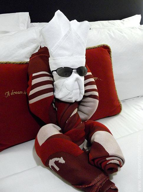 Your stateroom host leaves you little gifts like Towel Animals - A Disney Cruise Line Guide to Tipping