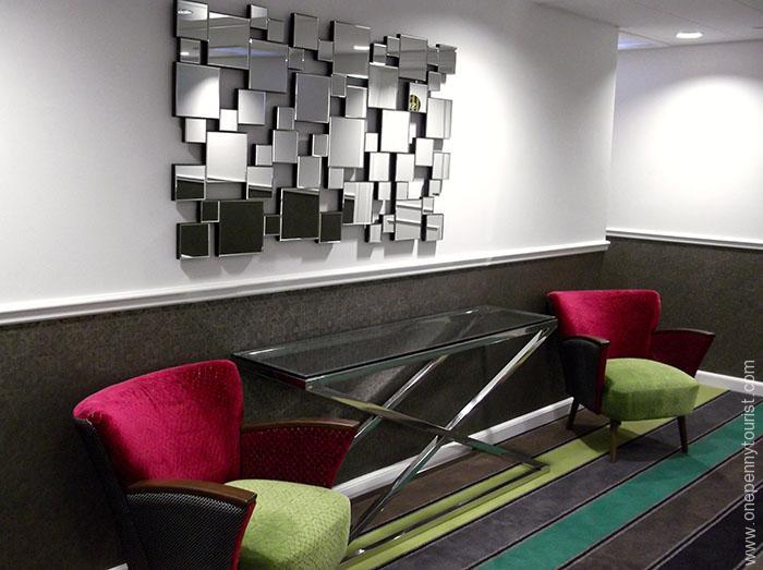 Absalon Hotel in Copenhagen - chairs. OnePennyTourist.com