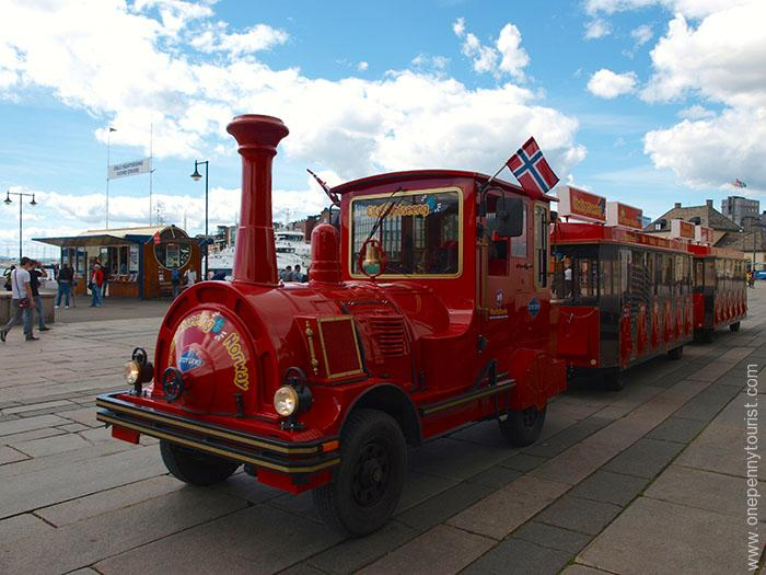 Oslo in 8 hours - Oslo waterfront Hop On Hop Off Train Tour, Norway. OnePennyTourist.com