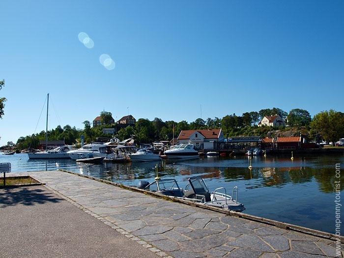 Our first peek at one of the small Kristiansand harbour's in Norway. OnePennyTourist.com