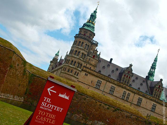 We used our Copenhagen Card to visit Kronborg Slot - aka Hamlet's Castle in Helsingør, Denmark. A trip highlight. OnePennyTourist.com
