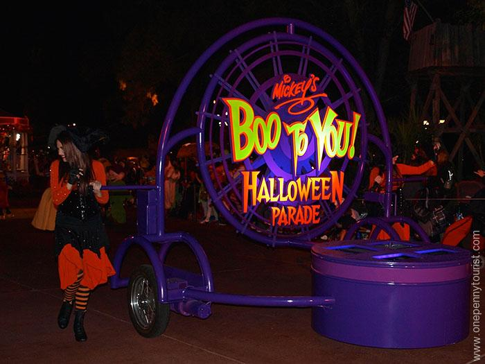 Boo To You Mickey's No So Scary Halloween Party Parade at the Magic Kingdom in Walt Disney World. OnePennyTourist.com