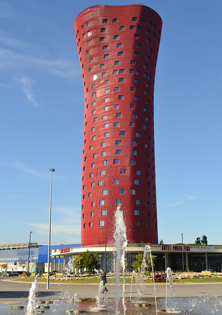 Hotel Porta Fira in Barcelona. Unusual hotels around the world at OnePennyTourist.com