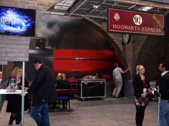 Harry Potter Tour London at the World Trade Market (WTM) 2015. OnePennyTourist.com
