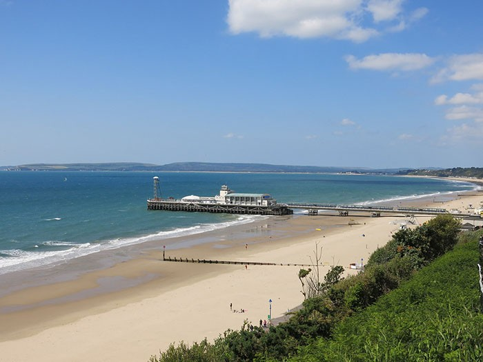 Bournemouth Beach and Pier, Dorset. One of my UK Seaside Bucket List picks for 2016. OnePennyTourist.com