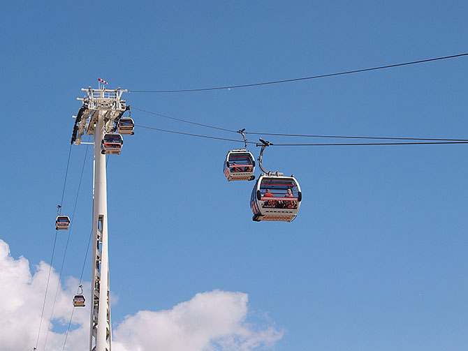 Emirates Air Line: London's only Cable Car